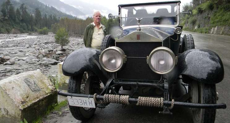 Rolls Royce expedition to Ladakh