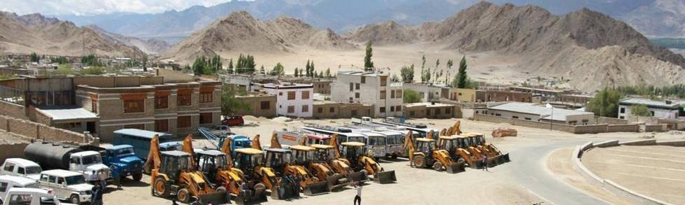 Parking in Ladakh